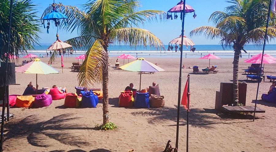 Sensations Voyage à Bali, plage de Seminyak