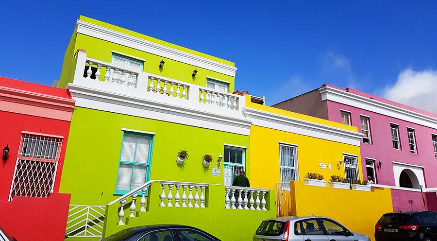 Sensations Voyage, Bo Kaap quartier malais, Cape Town- Afrique Du Sud