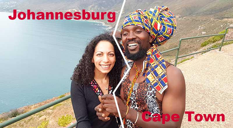 Sensations Voyage Experiences Johannesburg vs Cape Town