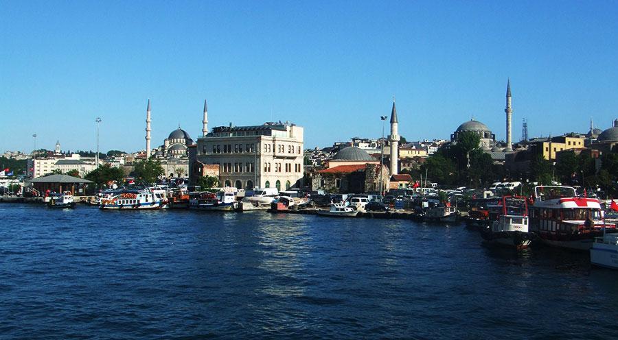 sensations voyage turquie destination bosphore mosquee