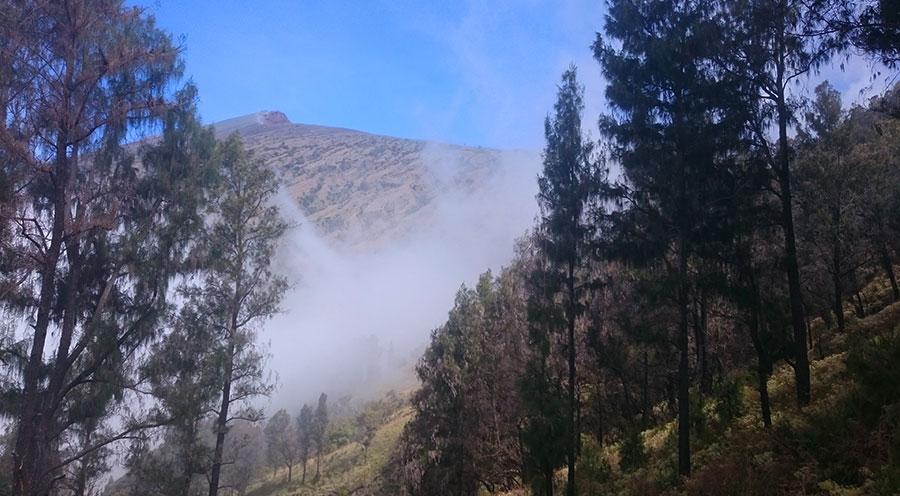sensations voyage trek 2 jours 1 nuit mont rinjani bali lombok