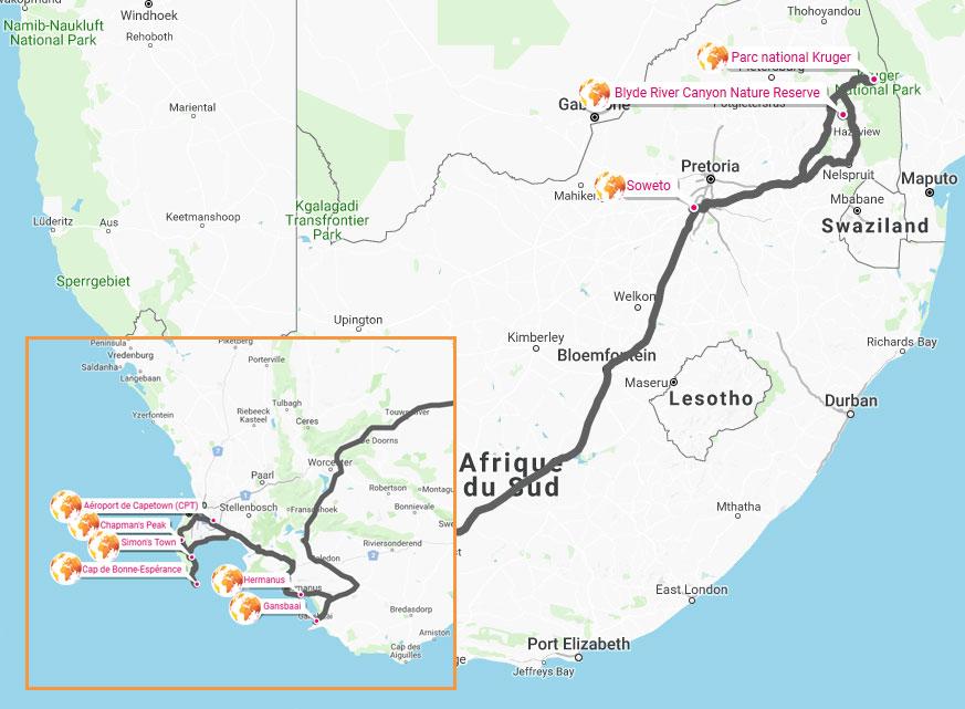 sensations-voyage-map-afrique-du-sud