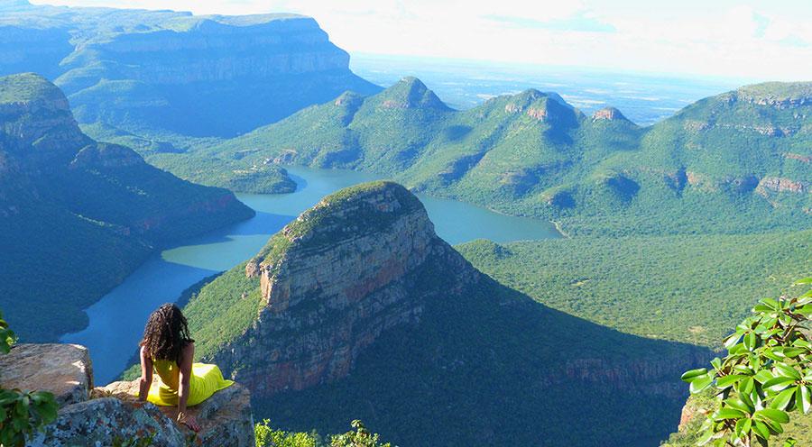 Three Rondavels Blyde River Canyon, Afrique du Sud Johannesburg vs Cape Town - Sensations Voyage le blog, expériences