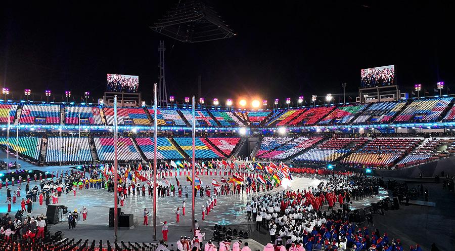 sensations-voyage corée du sud -voyages-coree-du-sud-korea-pyongchang-jeux-olympiques-ceremonie-cloture-final-ceremony corée du sud