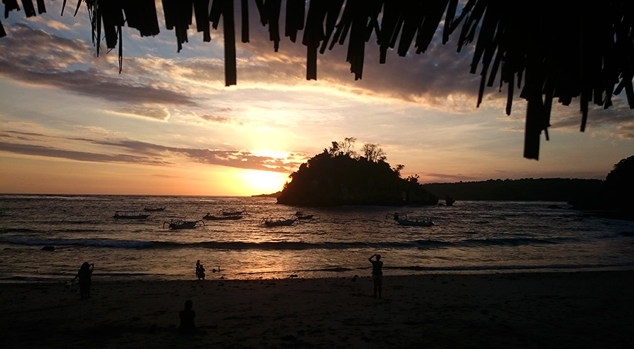 sensations voyage bali incontournables nusa penida sunset crystal bay coucher soleil