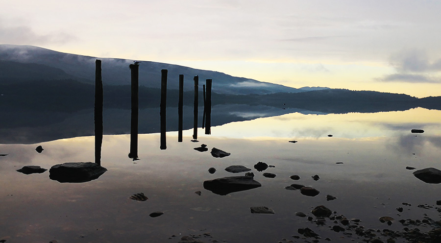 sensations-voyage-ecosse-loch-lomond-trossards-sunrise-reflet