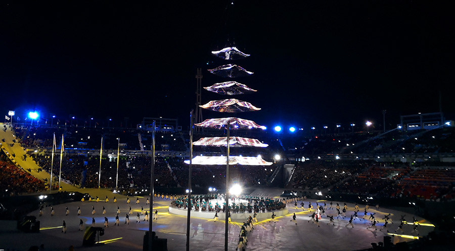 sensations voyage blog voyages coree du sud korea pyeongchang jeux olympiques ceremonie cloture final ceremony jo hiver 2018