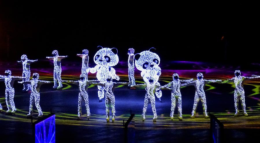 sensations voyage blog voyages coree du sud korea pyeongchang jeux olympiques ceremonie cloture final ceremony panda