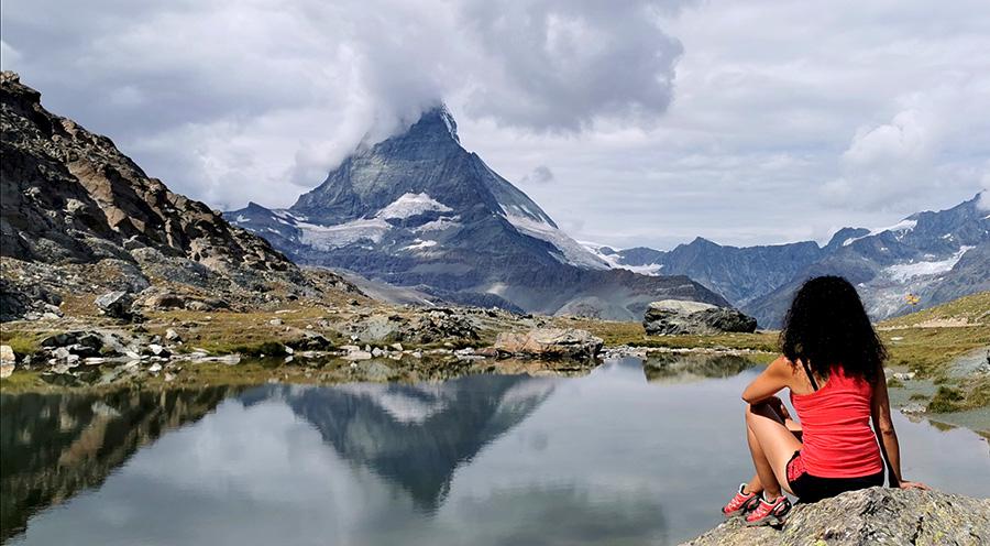 sensationsvoyage photos suisse riffelapls zermatt mont cervin matterhorn lake sam