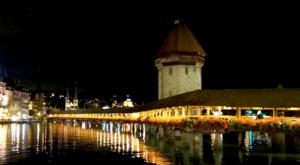sensations-voyage-voyage-photos-suisse-lucerne-luzern-pont-kapelbrucke-night