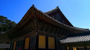 sensations-voyage-voyages-coree-du-sud-korea-gyeongju-temple-roof-plafond-2