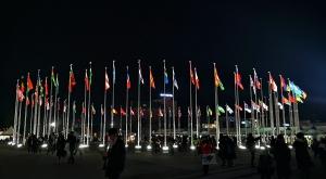 sensations-voyage-voyages-coree-du-sud-korea-pyeongchang-jeux-olympiques-village-flags-drapeaux