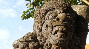 sensations voyage photos indonesie temple statue