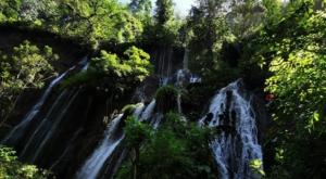 sensations voyage photos java bromo national park tumpak sewu waterfalls-green