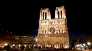 sensations voyage photos paris notre dame by night